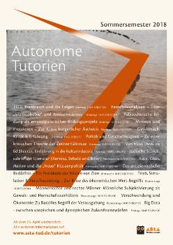 Plakat der Autonomen Tutorien im Som